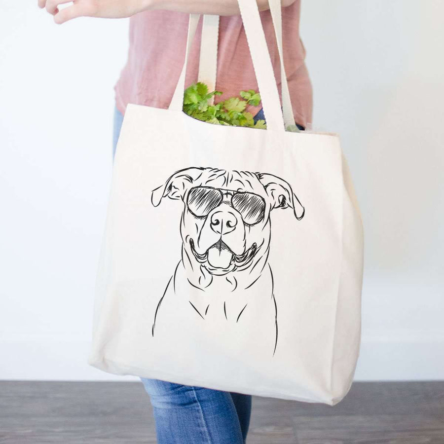 Timmy the Boxer/Rottweiler Mix - Tote Bag