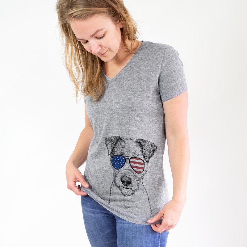 Bogart the Parsons Russell Terrier  - USA Patriotic Collection