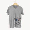 Bravo the Bulldog Mix  - USA Patriotic Collection