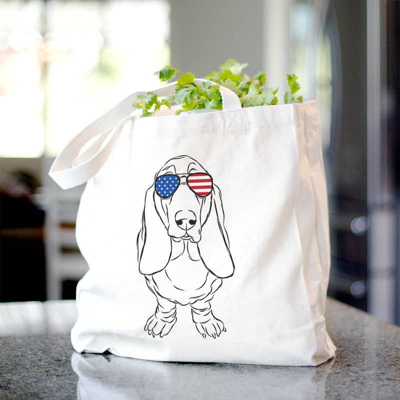 Charlie the Basset Hound - Tote Bag