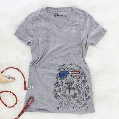 Clover the Cockapoo  - USA Patriotic Collection
