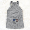 Desi the American Hairless Terrier  - USA Patriotic Collection