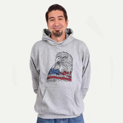 USA Eagle  - Unisex Hooded Sweatshirt