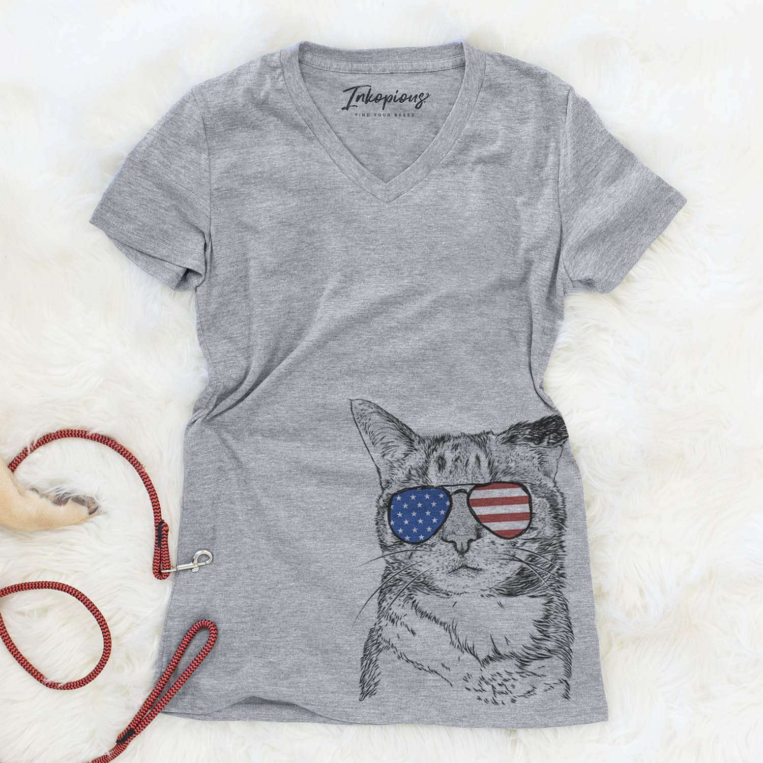 Eleanor the Domestic Shorthair  - USA Patriotic Collection