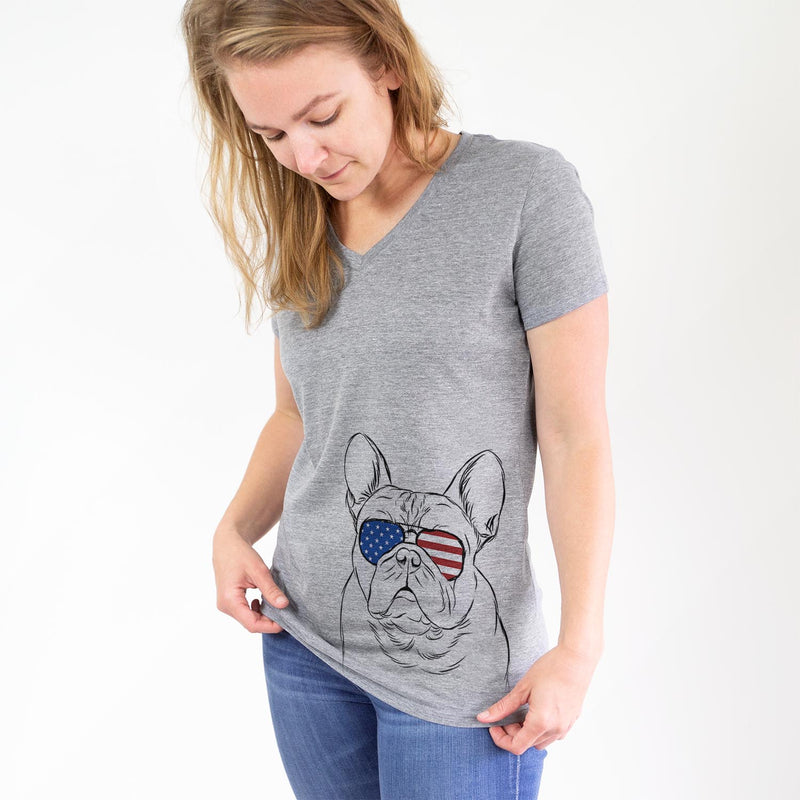 Fudge the French Bulldog  - USA Patriotic Collection