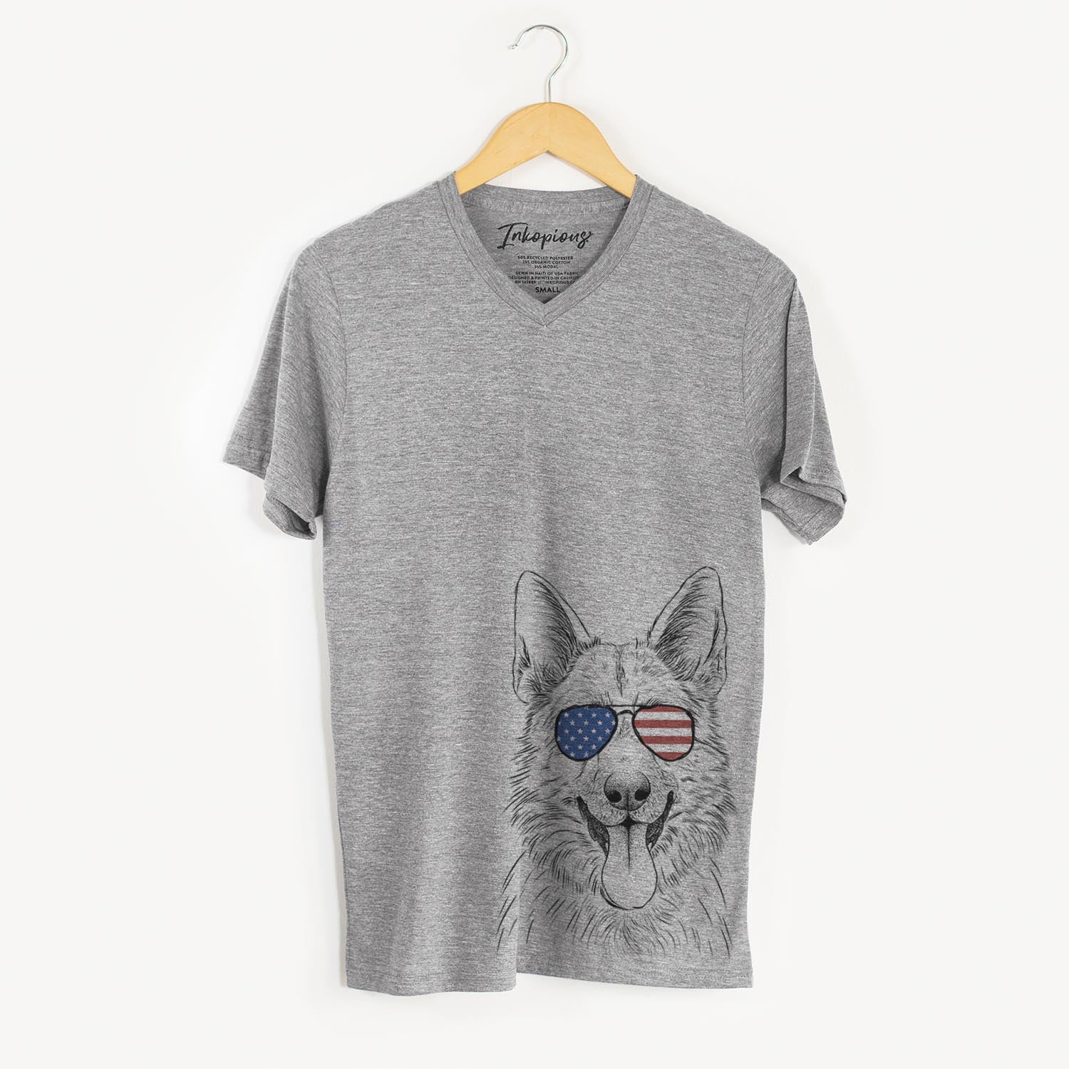 Grace the German Shepherd  - USA Patriotic Collection