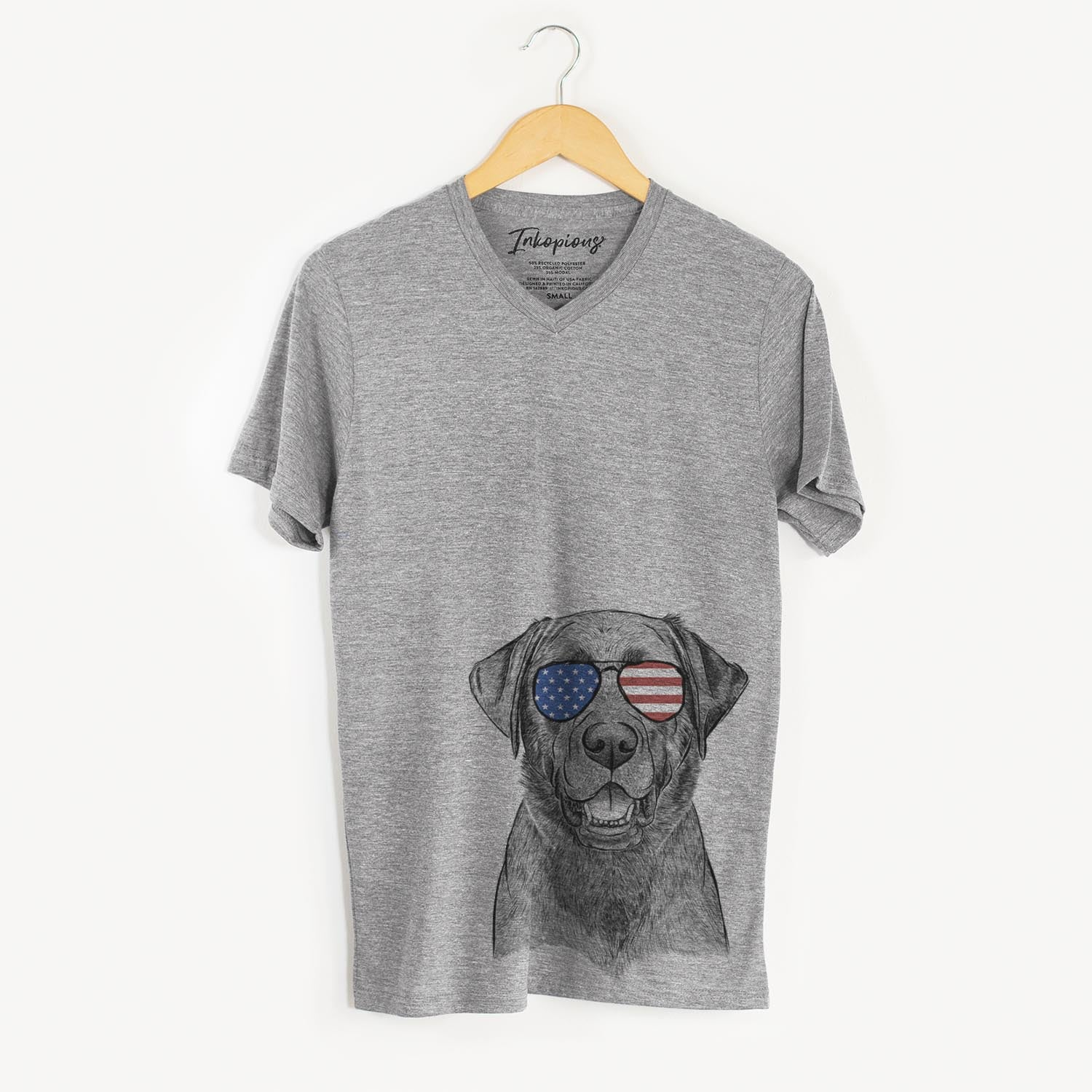 Heath the Black-Lab  - USA Patriotic Collection