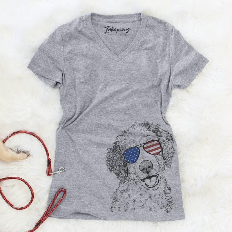 Hoge the Aussiedoodle  - USA Patriotic Collection