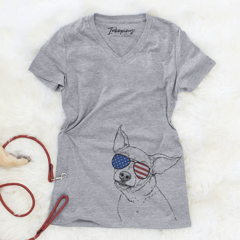 Lola the Chiweenie  - USA Patriotic Collection