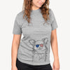 Marzi the Long Haired Chihuahua  - USA Patriotic Collection