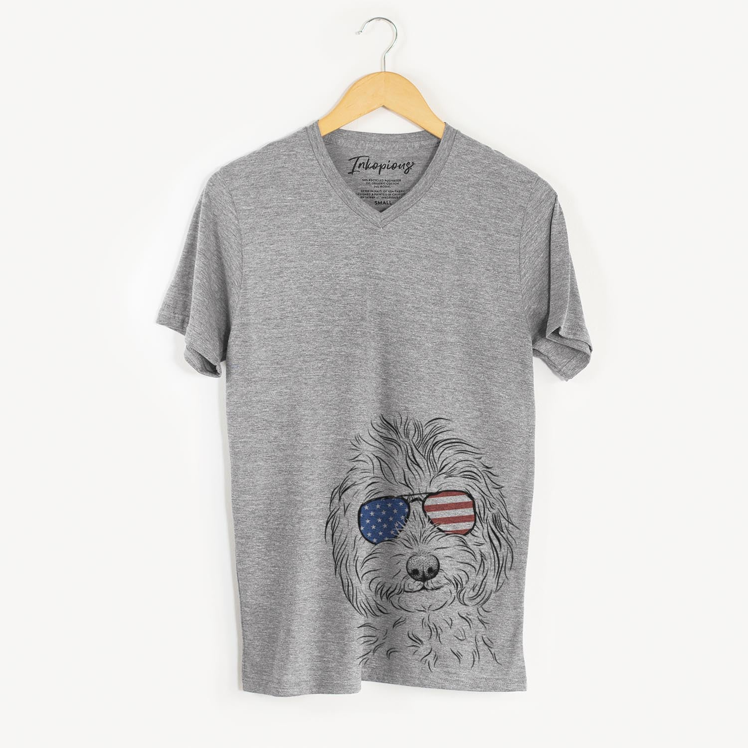 Mason the Cavapoo  - USA Patriotic Collection