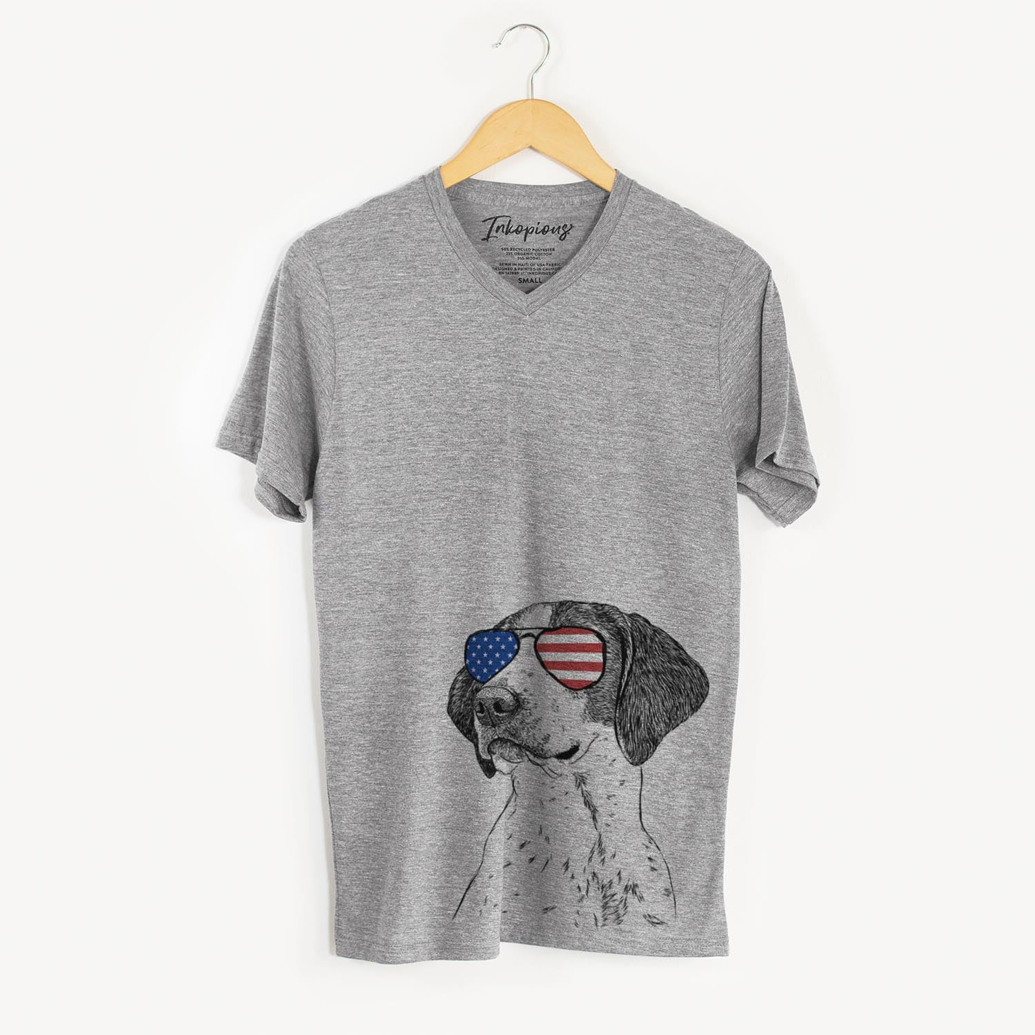 Payton the Mixed Breed  - USA Patriotic Collection