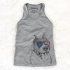 Piggy the American Staffordshire Terrier  - USA Patriotic Collection