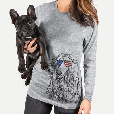 Sterling the Afghan Hound  - USA Patriotic Collection