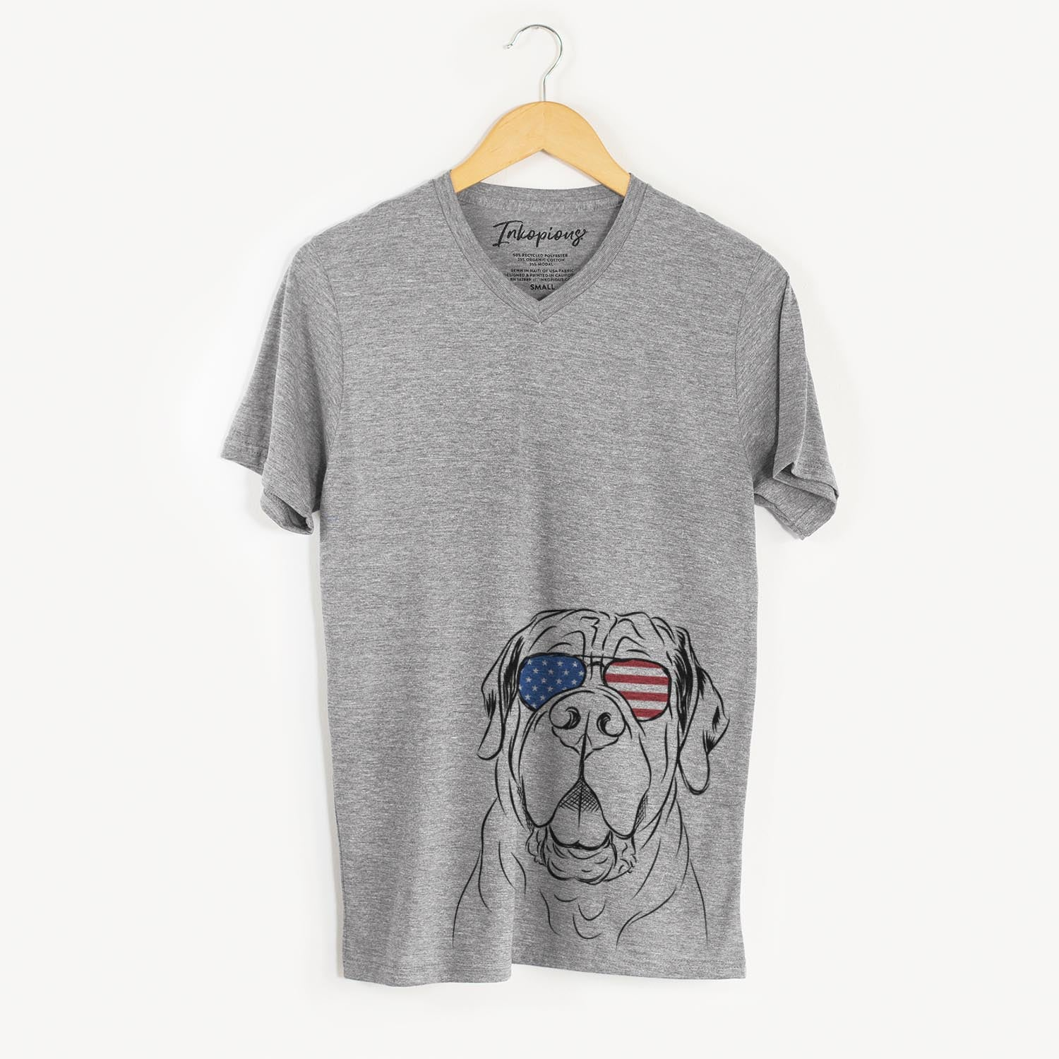 Tufton the English Mastiff  - USA Patriotic Collection