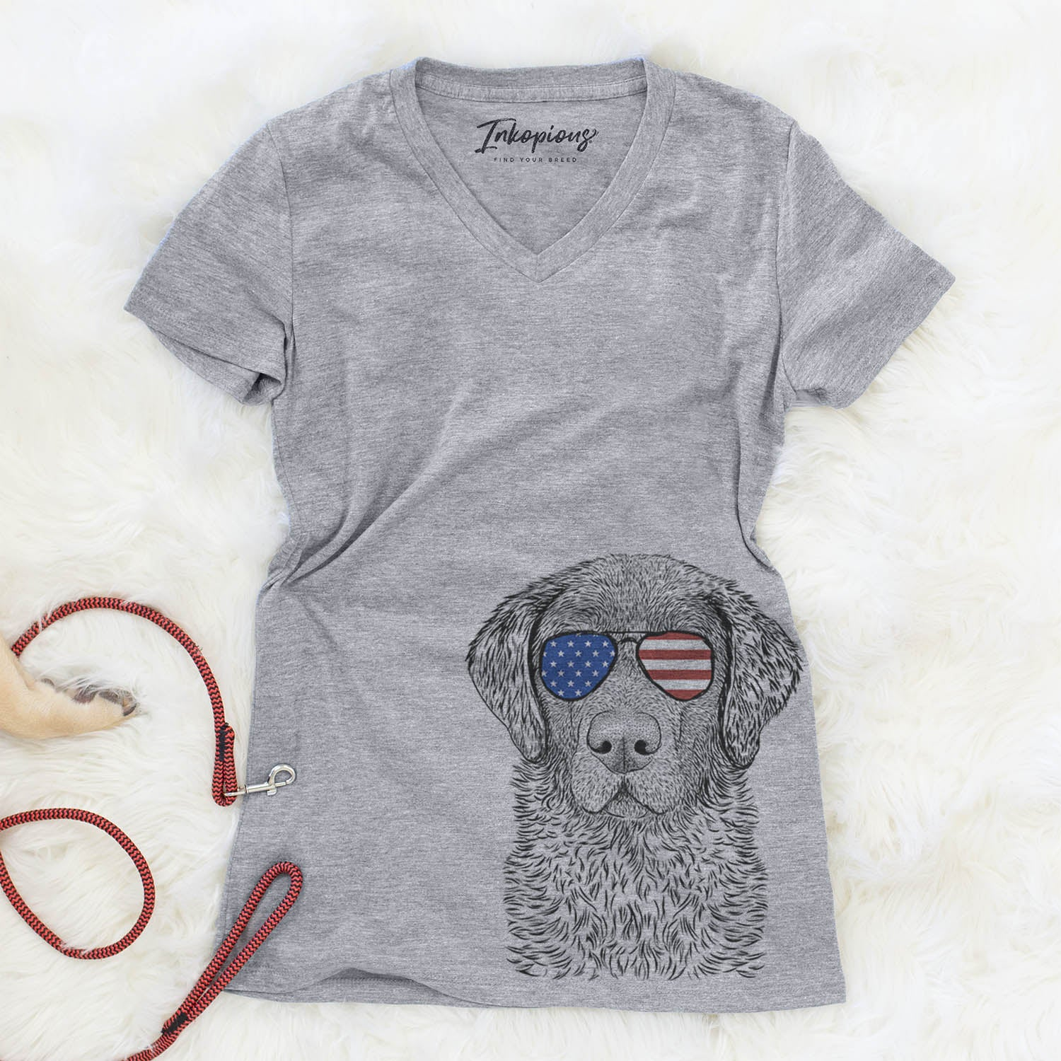 Whiskey the Chocolate Lab  - USA Patriotic Collection