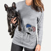 Xena the American Staffordshire Terrier  - USA Patriotic Collection