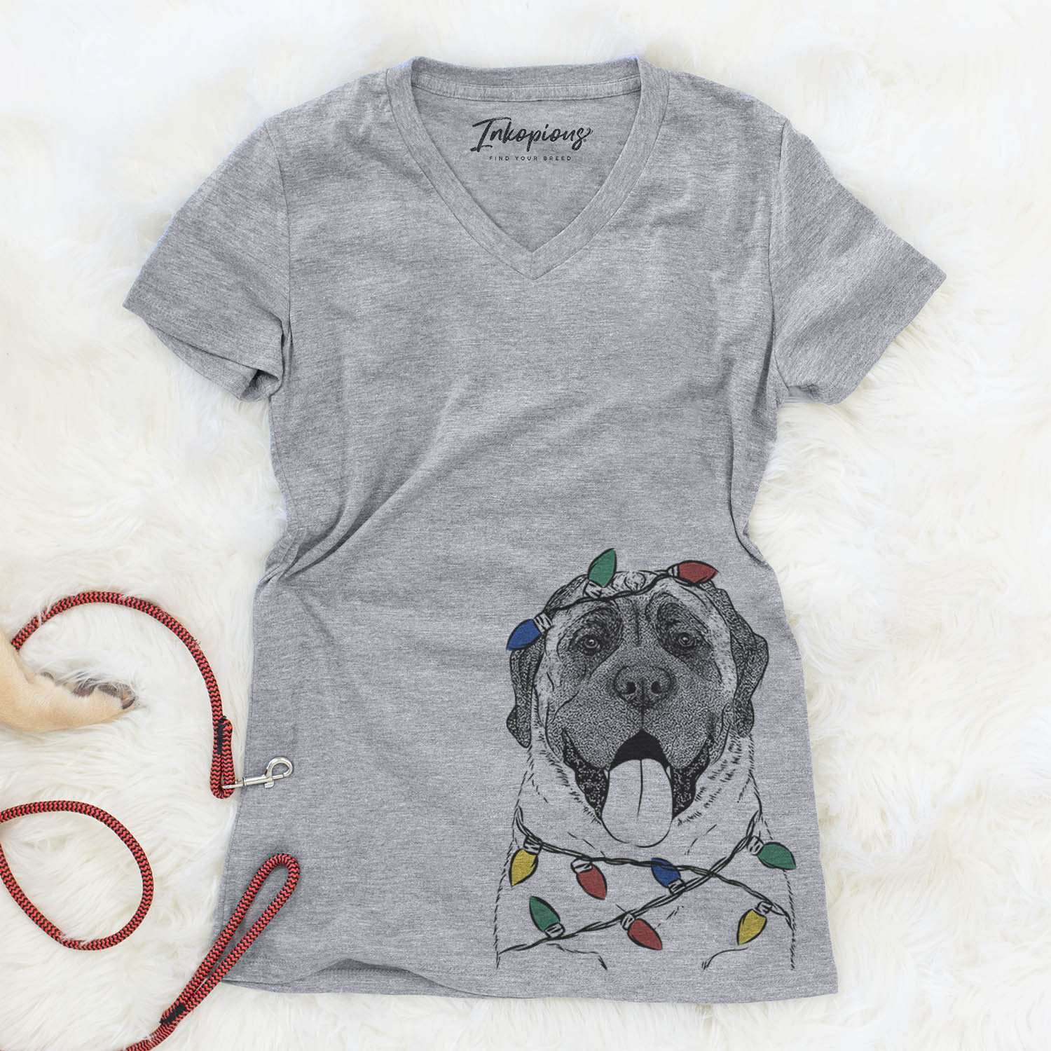 Remmie the English Mastiff  - Christmas Collection