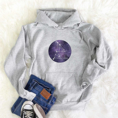 Capricorn Stars  - Mens Hooded Sweatshirt