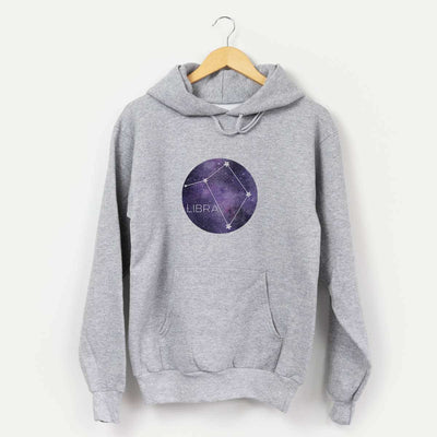 Pisces Stars  - Mens Hooded Sweatshirt