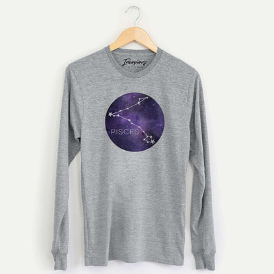 Pisces Stars  - Long Sleeve Crewneck