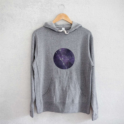 Taurus Stars  - French Terry Hooded Sweatshirt