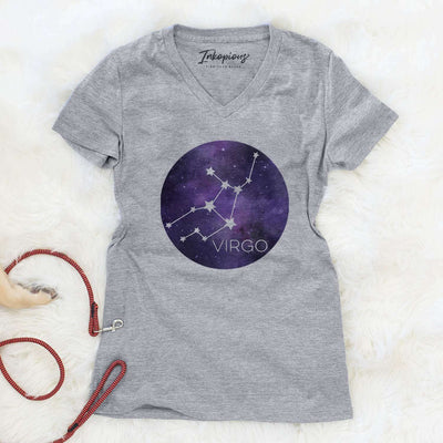 Virgo Stars  - Women's Modern Fit V-neck Shirt