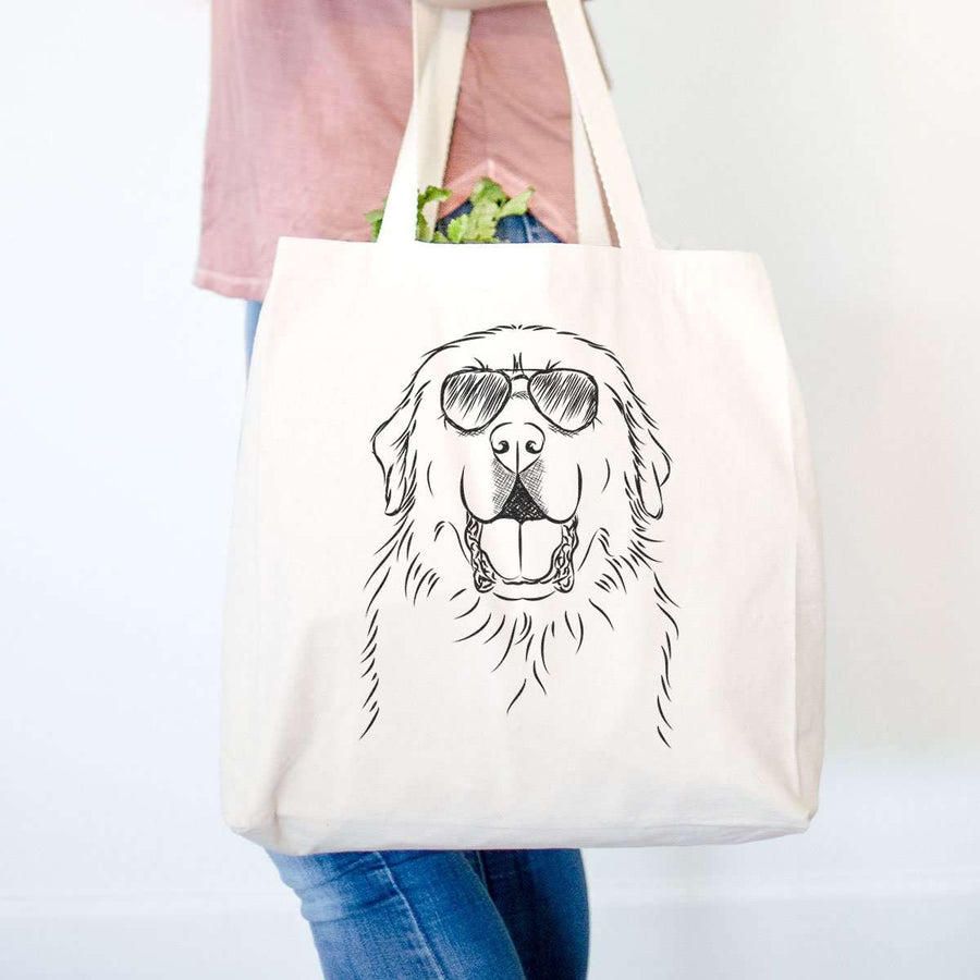 Zeus the Great Pyrenees - Tote