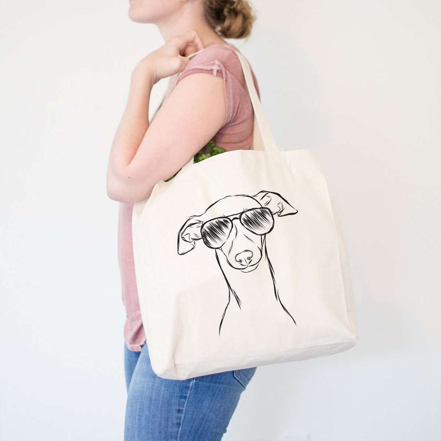Ziggie the Italian Greyhound / Whippet - Tote Bag