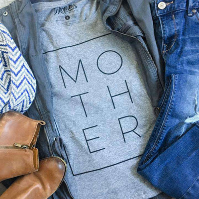 Mother Boxed - Tri-Blend Unisex Crew