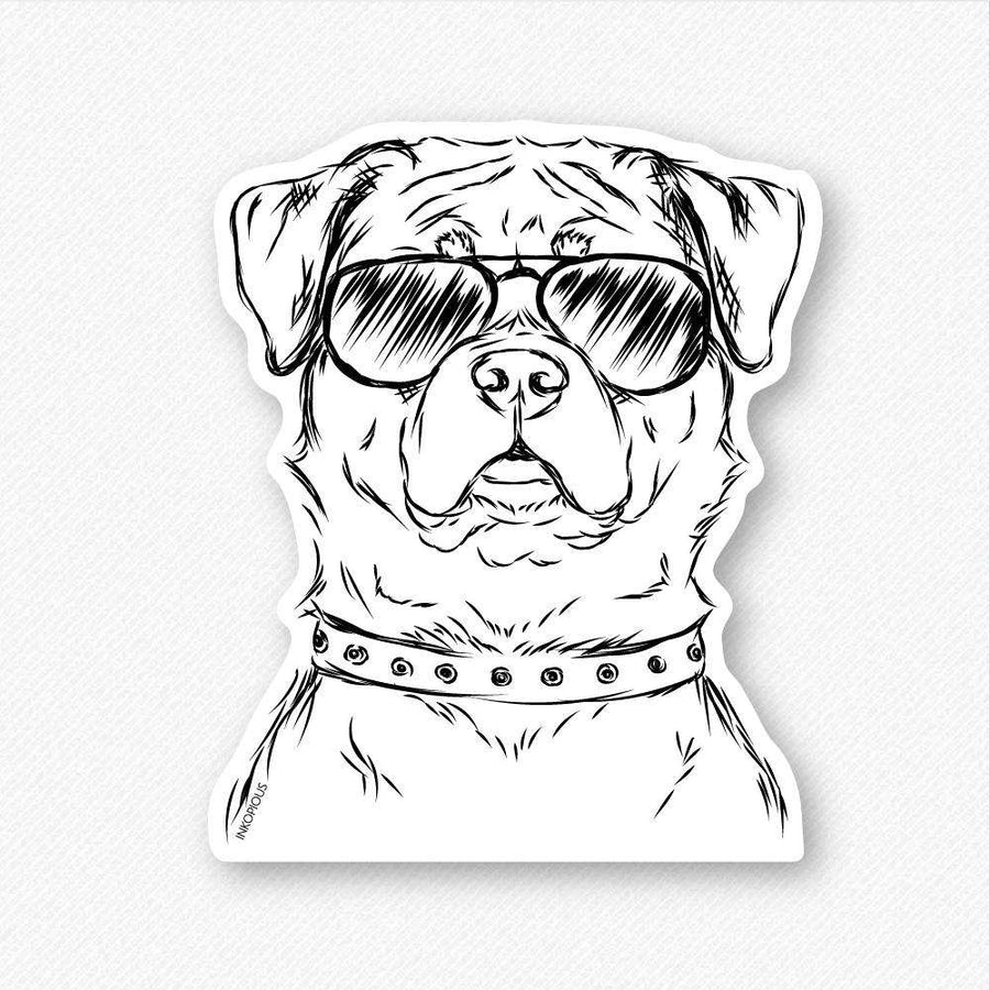 Rocky - Rottweiler - Decal Sticker