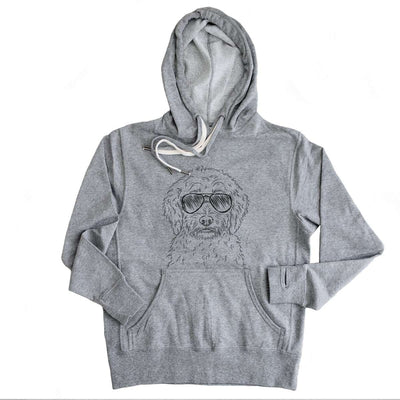 Teddy the Labradoodle - French Terry Hooded Sweatshirt