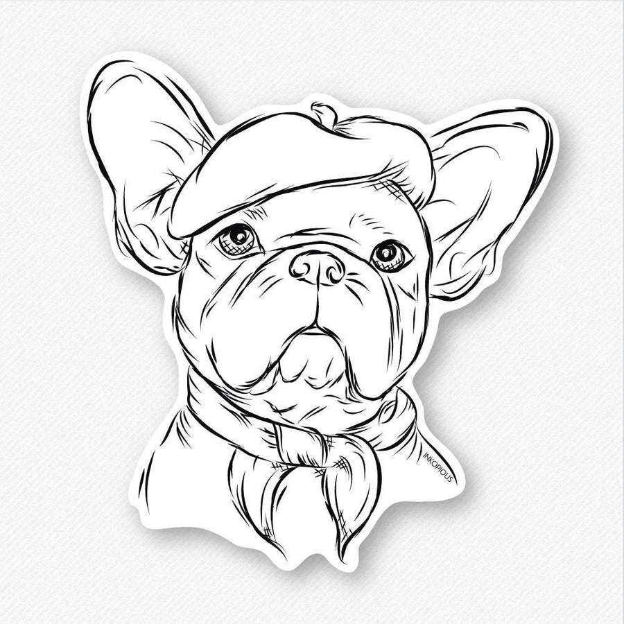 Pierre - French Bulldog - Decal Sticker