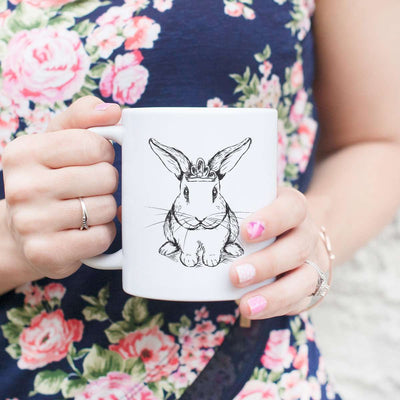 Royal Bunny - Mug