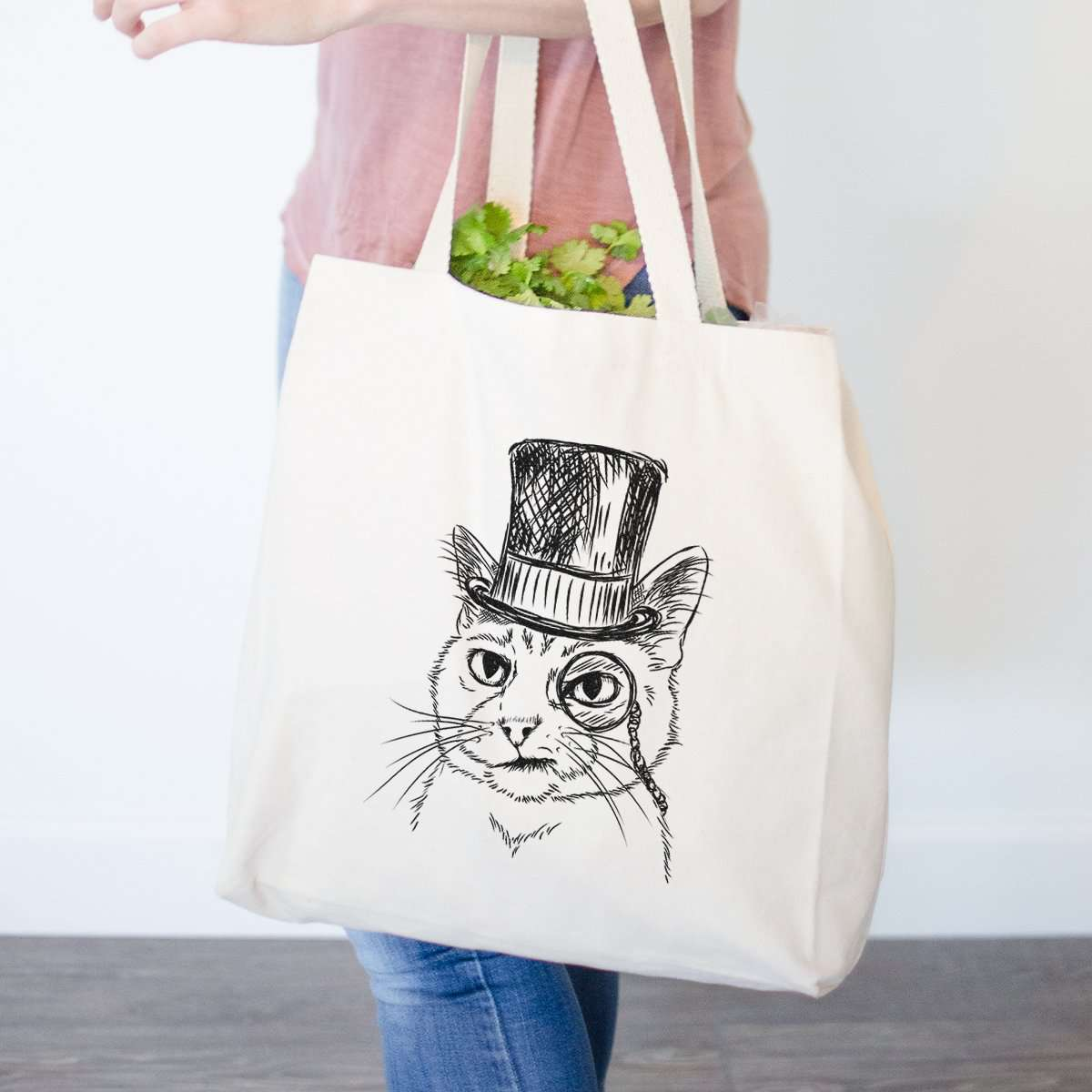Sir Alfred the Cat - Tote Bag
