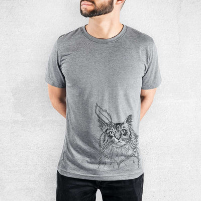 Chloe the Tabby Cat - Tri-Blend Unisex Crew