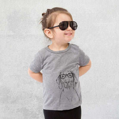 Flint the Nerd Weimaraner - Kids/Youth/Toddler Shirt