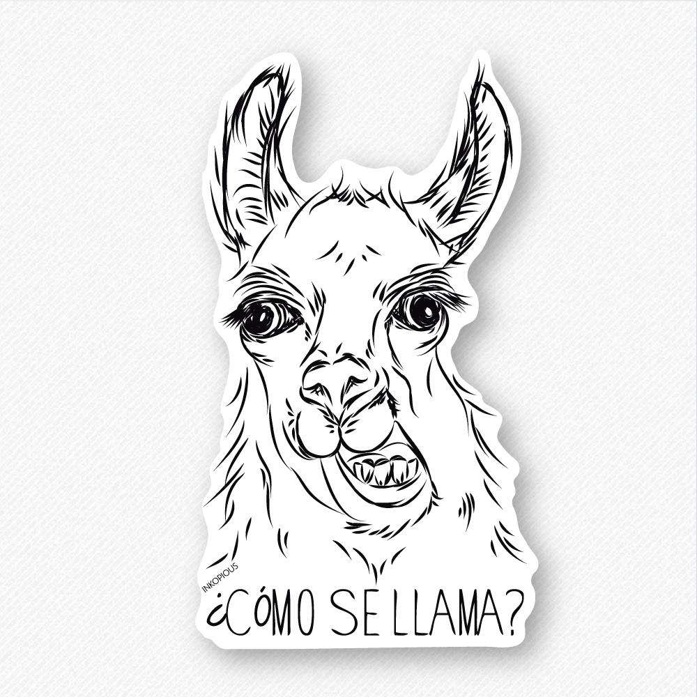 Como Se Llama - Decal Sticker