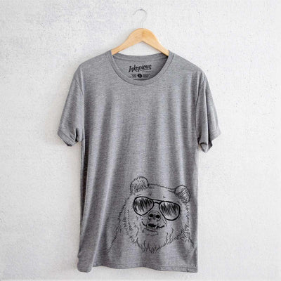 Grizz the Bear - Tri-Blend Unisex Crew Shirt