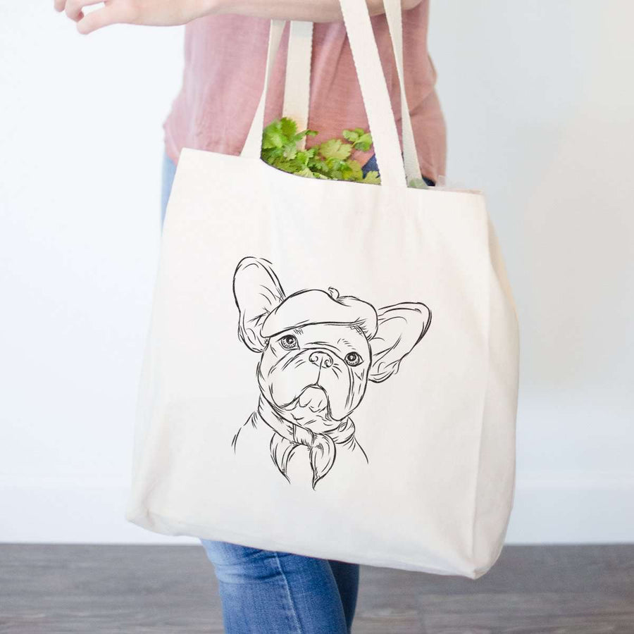 Pierre - French Bulldog - Tote Bag
