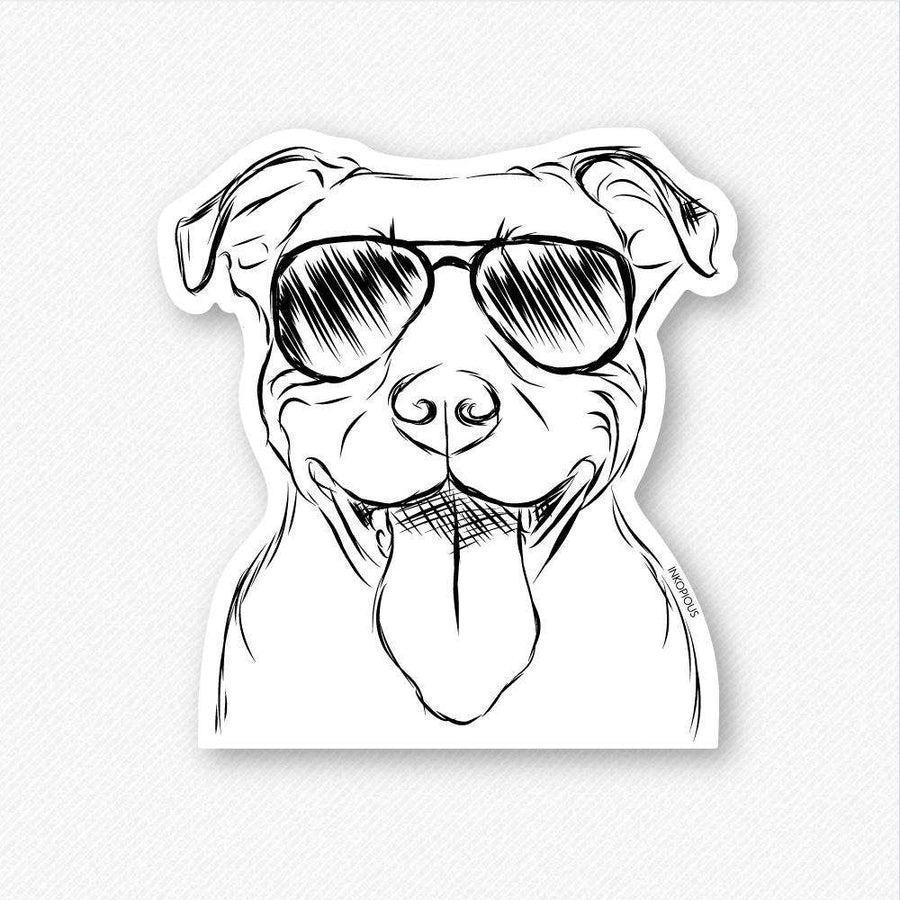 Major - Pitbull - Decal Sticker