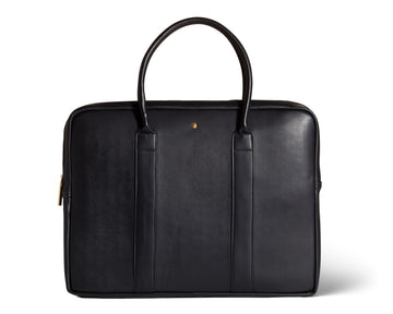 The 'Soulful Maasai' Vegan Leather Laptop Briefcase
