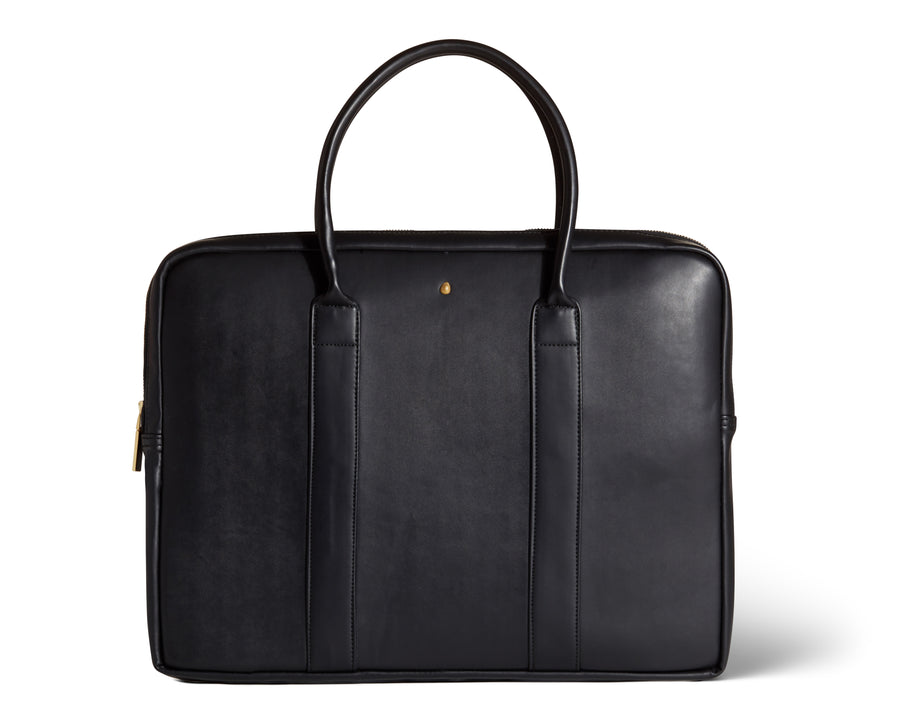 Vegan Leather Laptop Briefcase