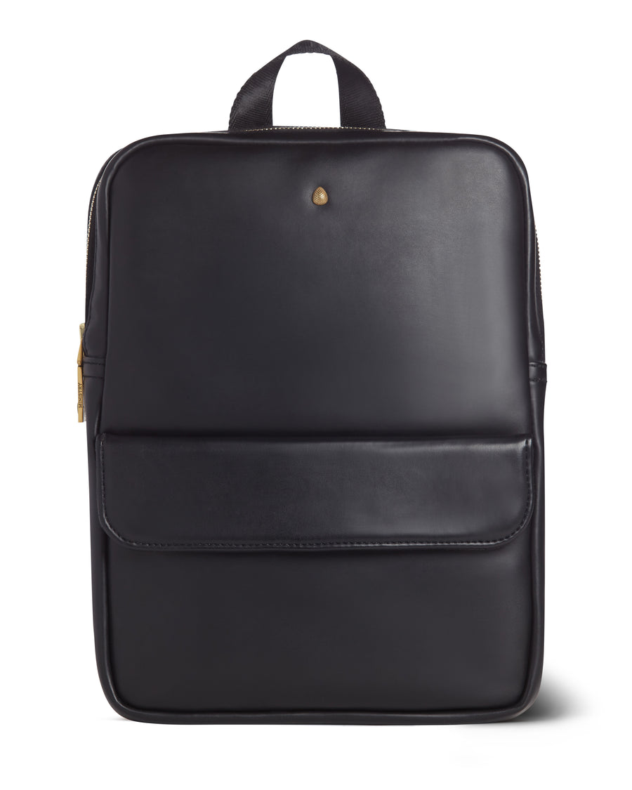 Unisex Faux Leather and Organic Cotton mini BACKPACK