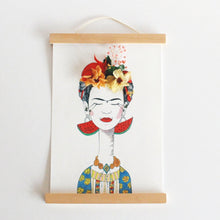 Retrato de Frida presonalizado