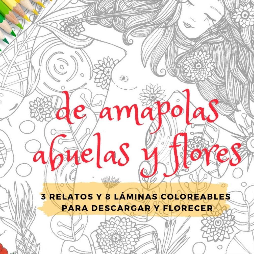 Ebook Coloreable De amapolas... - Verónica Maraver