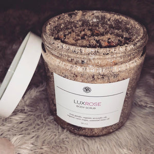 Lux Rose Body Scrub
