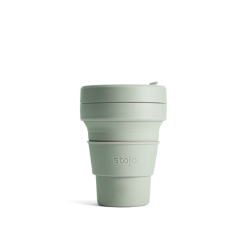 Stojo Collapsible Coffee Cup - Sage
