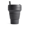 Stojo Collapsible Coffee Cup - Carbon