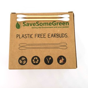 Save Some Green  Cotton Swabs - 200pcs